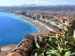 City of Nice on the French Riviera (Bn) Tags: city vacation holiday seascape france water architecture landscape nice mediterranean ctedazur coastline traveling topf100 soe frenchriviera lavie 100faves abigfave worldbest aplusphoto firsttheearth wowiekazowie ishflickr ysplix theunforgettablepictures theperfectphotographer whereintheworldiswally whereintheworldiswallly