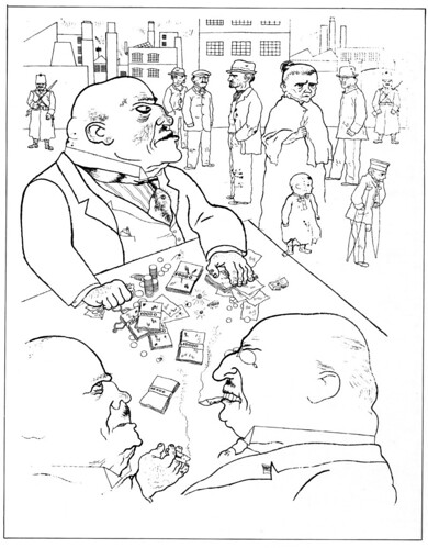 """Toads of property"" by George Grosz, 1921"