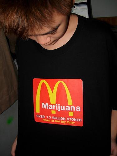 mcdonald errrm...marijuana