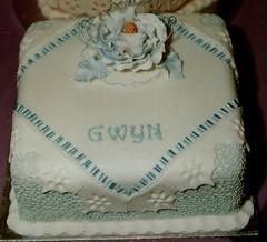 Cacen bedydd Gwyn (MorfuddNia) Tags: cake christening cacen christeningcake bedydd cacenbedydd