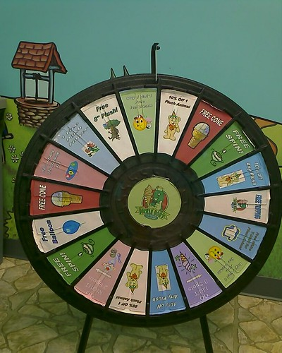 Prize Wheel at The Bear Mill is pretty lame!