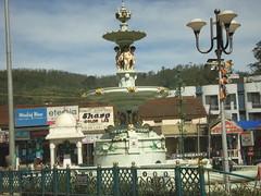 city market , fountain, Ooty, Nilgiri