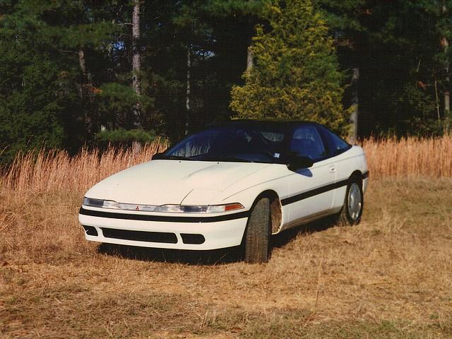 car eclipse automobile mitsubishi 1990