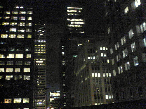 Night Office Buildings
