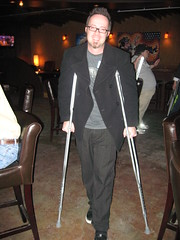 Whurley on Crutches