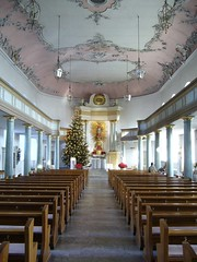 Bayreuth 5 - Schlokirche (SebastianBerlin) Tags: christmas tree church germany joseph bayern bavaria kirche franconia upper baroque weihnachtsbaum franken 2008 barock bayreuth 1756 oberfranken  saintpierre  schlokirche
