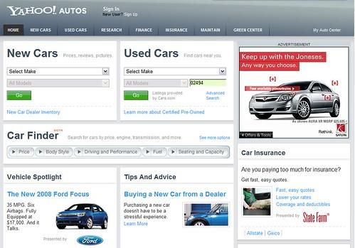 Yahoo Autos 2