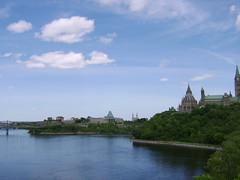 Landscape and architecture (joelevickas) Tags: canada architecture river ottawa
