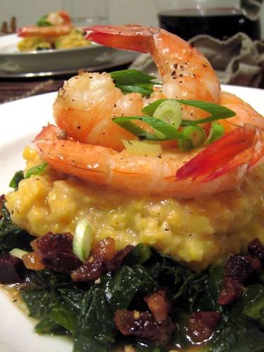 Shrimp & Grits Husbear Style