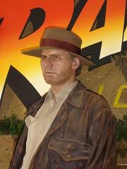 Indiana Jones (adoublec) Tags: starwars blackpool 007 tussauds jamesbond davidbeckham waxworks louistussaudswaxworks