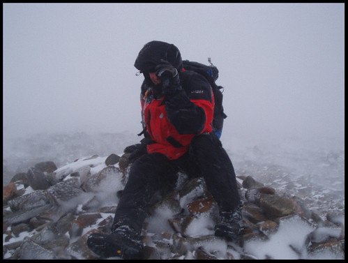 Brian on Summit Cairn
