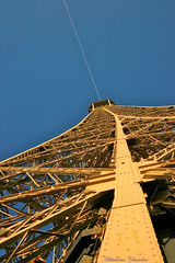 Crossing the Eiffel Tower