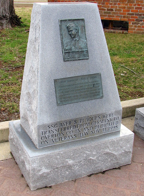 Loval E Ayers monument