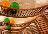 yellow bin, green bin, green bin, yellow bin, green bin, yellow... (chirgy) Tags: green london yellow stairs panel ou marble ocd eca bushhouse updown openuniversity lemonlime linescurves t189 octdec2008 orderorder green2011