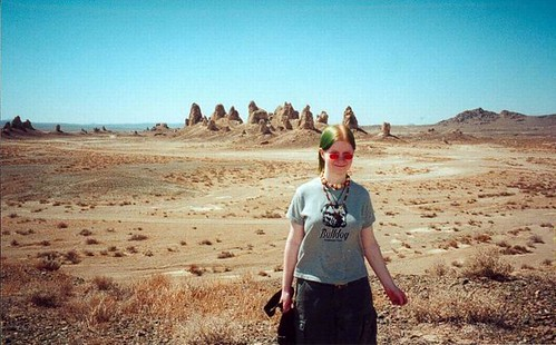 16-year-old me visits the desert