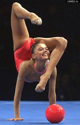 Russian Gymnast and politician Alina Kabayeva