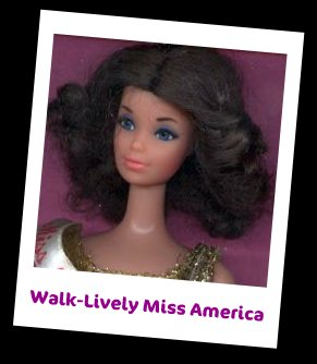 Walk-Lively Miss America Doll