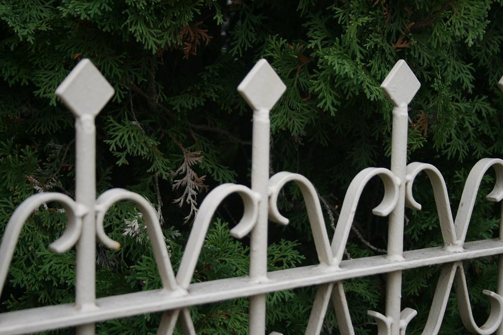 flat iron fence