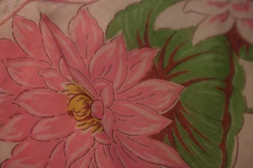 vintage hankie bloom