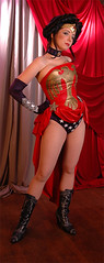 Wonder Woman Amazonia (A_Riddle) Tags: comics wonder moulin rouge dc costume cosplay wonderwoman superhero amazonia wonderwomen elseworld
