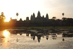 Ankor Watt (Peter Cook UK) Tags: sunrise cambodia ankorwatt