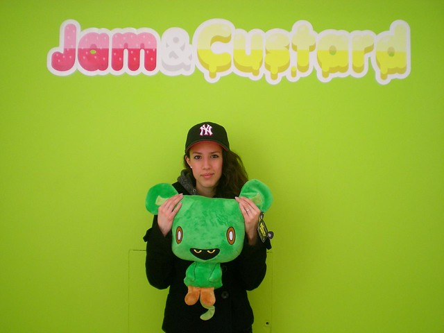 Anna the plush and Jam amp Custard by JamFactory