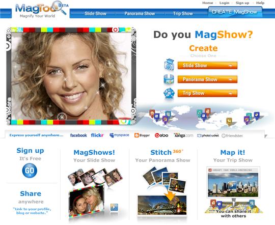 Magtoo homepage