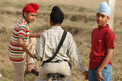 Friends for Life (gurbir singh brar) Tags: friends india boys youth friendship conversation sikhs sikh punjab chilhood patka gurbirsinghbrar