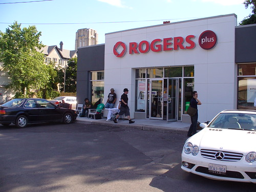 The Rogers Plus starts to fill