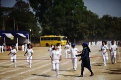 The Winning Moment (N A Y E E M) Tags: girls students sports competition today morning dampara chittagong bangladesh cgs chittagonggrammarschool