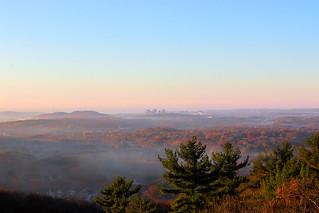 Misty Morning Over Coastal CT