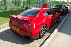 Nissan GT-R (D's Carspotting) Tags: nissan gtr france coquelles calais red 20100613 mt09yow le mans 2010 lm10 lm2010