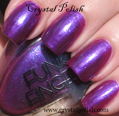 Funky Fingers Melted Popsicle (CrystalPolish) Tags: purple shimmer funkyfingers meltedpopsicle