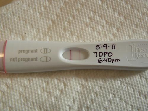 7 Dpo Positive Pregnancy Test - Pregnancy Symptoms