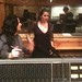 Brigitte Zarie and Engineer Roy Hendrickson at Avatar Studio In NY Recording the big Band for the new Brigitte Zarie CD