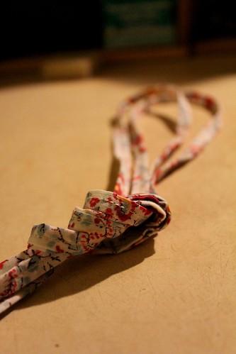 again, laces