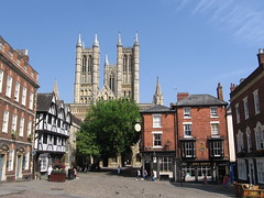 lincoln view from main square