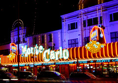 Monte Carlo.... (~fb~) Tags: sea night lights front southend amusements southendonsea 171007 17thoctober2007