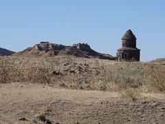 Ani: Citadel & Church (Jean & Nathalie) Tags: church turkey citadel trkiye turquie trkei ani armenian kars