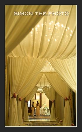 nice decoration at Island Shangri La Ballroom