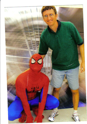 John and Spiderman ay Walmart