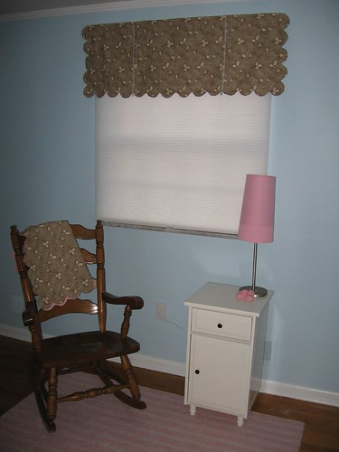 Nursery Valance and Rocker