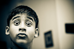 Growing Up (knowsnotmuch) Tags: funnyface 50mm nephew aditya mumbai pp 227 mooseman explored