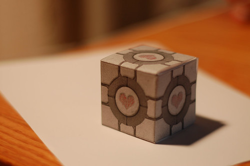 Weighted (Paper) Companion Cube