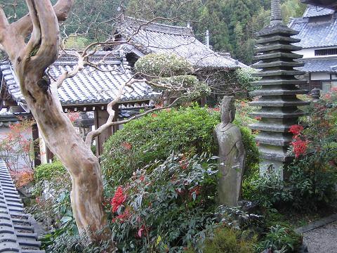 聖林寺-お庭