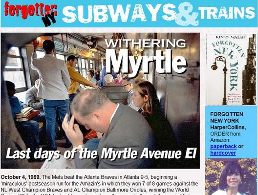 Forgotten NY--Myrtle Avenue El