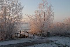 22-12-2007: 09:19 GMT+1 (FaceMePLS) Tags: sneeuw nederland thenetherlands zoetermeer brug bruggetje nikond200 noordaa facemepls winter20072008