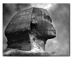Black & White Sphinx (MarceloRuiz) Tags: sphinx nikon egypt cairo 10faves golddragon mywinners abigfave superbmasterpiece diamondclassphotographer theunforgettablepictures