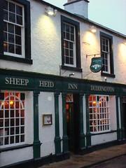 Sheep Heid Inn, Edinburgh exterior