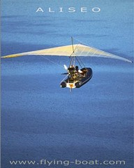 Aliseo Flying Boat Poster